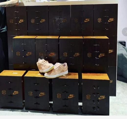 美国红橡木做的木制运动鞋包装盒