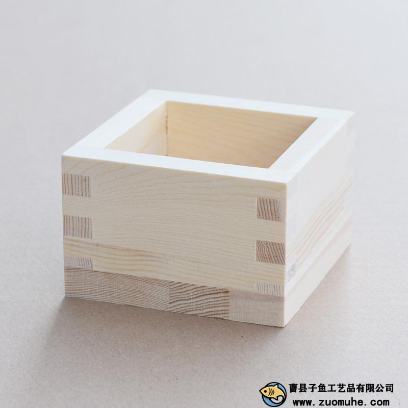 日本清酒杯 杯托盘 一盒升 米斗